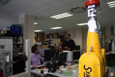 Laboratorios del grupo de Robótica, Automática y Visión por Computador de la UJA.