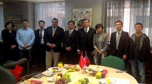 Delegación China visita Asoex