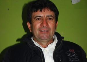El productor Nelso Badilla está feliz con su récord de 120 quintales por hectárea que obtuvo con la variedad de arroz Zafiro-INIA.