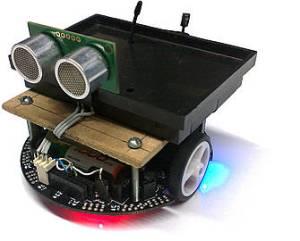 Modelo de sensor inalámbrico robotizado